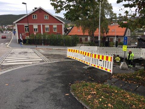 Bråk: I dag blir det bråk i Hyttegata.