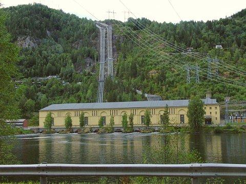 Nore og Uvdal kommune kan minste viktige vannkraftinntekter.