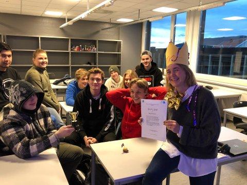 ÅRETS ENTREPRENØRSKAPSLÆRER: Hege Steffensen er Buskeruds vinner og nominert til Årets entreprenørskapslærer på landsbasis.