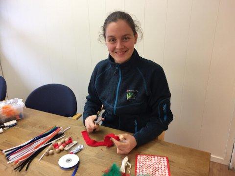 Mari Jystad håper å se mange glade barn som er kreative sammen.