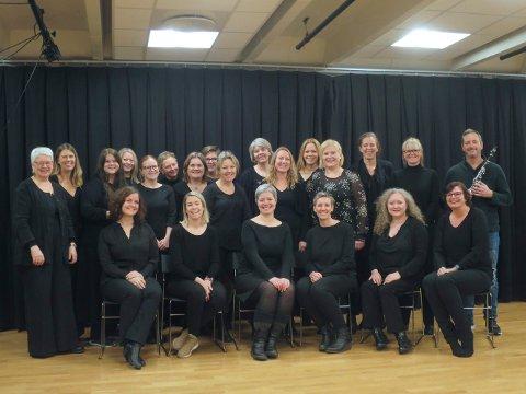 KLARE FOR KONSERT: Acta Musicae holder konsert i Kongsberg kirke søndag 1. desember.