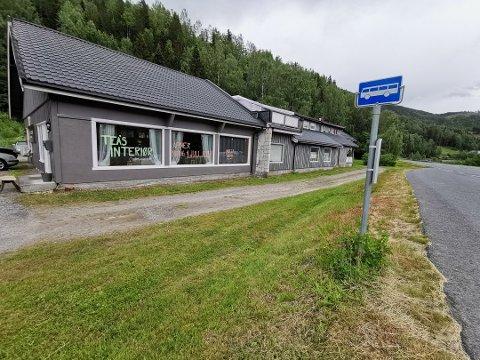 STENGER DØRENE: Boligstyling, gave- og interiørbutikken Tea's interiør med adresse Langodden 61 på Nore stenger dørene etter tre måneders drift.
