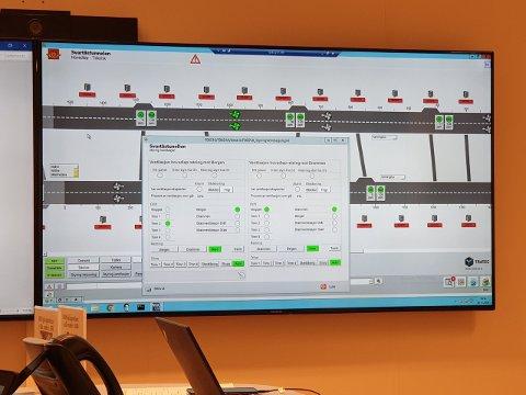 Mer enn 14.000 signaler skal styre E134-trafikken i Kongsberg.