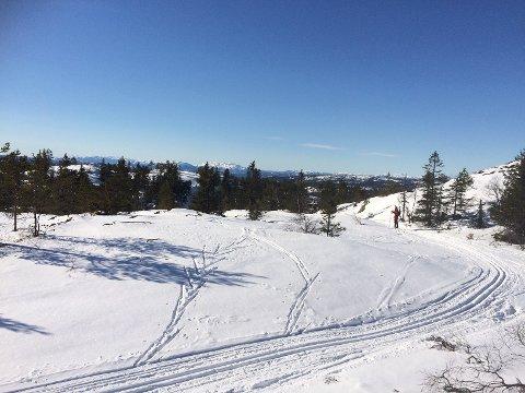 FLOTTE FORHOLD: Denne uka er det bare å spenne på seg skiene - det blir rene påskestemingen i løypa.