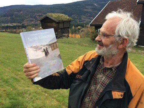 FORFATTEREN: Narve Lid tar med boka si om Jacob Gløersen til Labrostua torsdag 28. mars. Der blir det kunstaften.