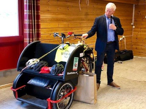 Offisiell åpning av Ordfører Oddvar Garås