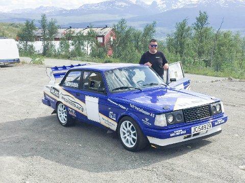 Olav Fredriksen fra NMK Modum og Sigdal vant i sin klasse under Norges Råeste Bakkeløp i Målselv forrige uke.