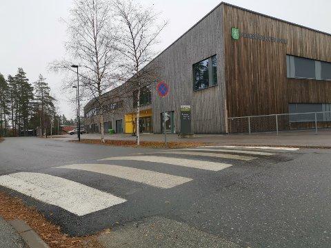 LIVSFARLIG LEK: I helgen ble det flere steder i Kongsberg og Jondalen observert barn og unge som la seg ned ved fartshumper og fotgjengeroverganger og ventet på biler. – Livsfarlig, sier politiet. Foto: Katrine Alexandra Lerimo Heiberg