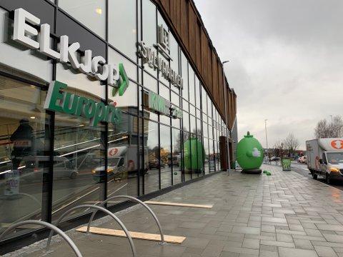 SØLVPARKEN: Tre butikker har åpnet de siste ukene.
