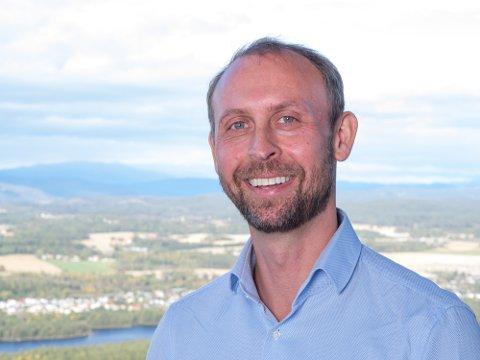 STOR INTERESSE FOR JOBBER: Daglig leder i Buskerud Næringshage, Jon Eystein Lund, forteller at da selskapet lyste ut tre stillinger fikk de over 100 søkere.