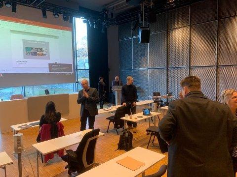 Et enstemmig formannskap i Kongsberg kommune ville at polet fortsatt skal være på Vestsiden.