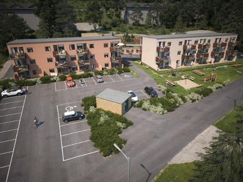 NYTT PROSJEKT: I Elgfaret skal det bygges 27 leiligheter. Utbyggeren håper på byggestart til høsten.