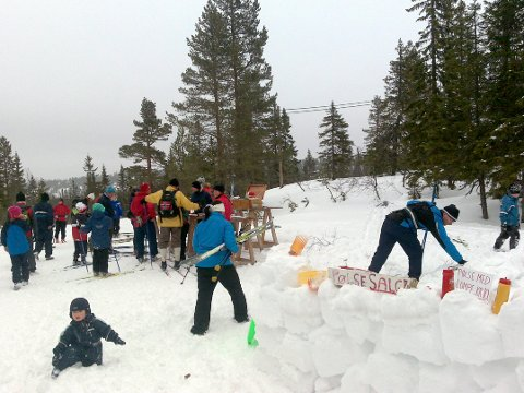Skrimløpet: Søndag kan du velge mellom flere turløp, blant annet Skrimløpet og Knuteløpet.