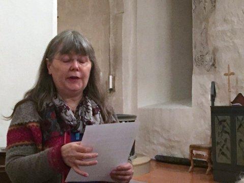 DIRIGENT: Lise Knudsen har laget et bestillingsverk, som skal framføres under konserten.