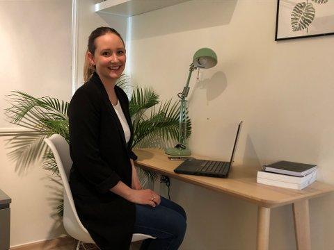 Gabrielle Lilleeng Asmyhr, som er leder for Advokatforeningen Buskerud krets, ser fram til å arrangere Advokatvakt torsdag.