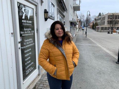 Lettet: Tirsdag kom beskjeden om at noen av korona-tiltakene løsnes. Det betyr blant annet at Aase Renee Holen kan åpne velværesalongen sin i slutten av april.