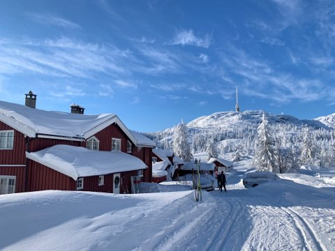 Knutehytta: Nå jaktes det på nye drivere til den tradisjonsrike hytta.