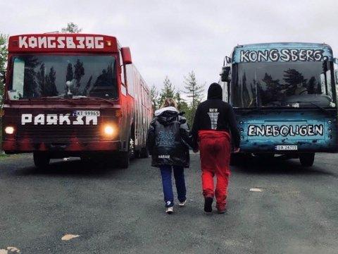 Etter den første natta med klager på bråk, sluttet Kongsberg-russen å dra til Funkelia. Nå ruller de to bussene fra Kongsberg til andre steder for ikke å oppmuntre til bruk av nettopp Funkelia.