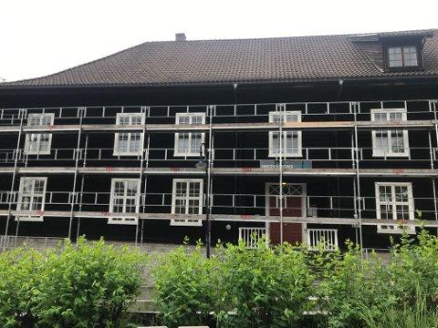 LEIER UT: Innovasjonsloftet i Hyttegata 4 leier ut flere rom i ulike etasjer til Universitetet i Sørøst-Norge.