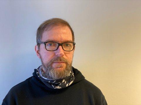 SATSER: Morten Waage satser på kaffe i Veggli.