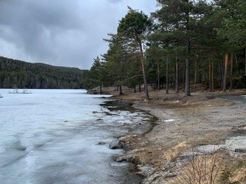 FÅR STØTTE: Det er mange planer om utvikling av Kjennerudvannet og området rundt. Nå får kommunen også fylkeskommunal støtte.