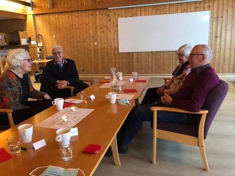 Fra venstre: Annie Hanssen, Knut Rasmussen, Svanhild Skjæggestad og Mathias Skjæggestad.