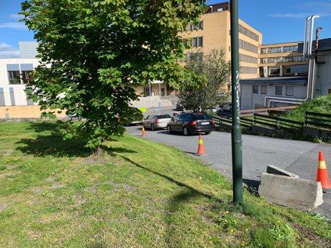 LAVESTE BEREDSKAPSNIVÅ: Sykehusene i Vestre Viken er nå på grønt nivå.