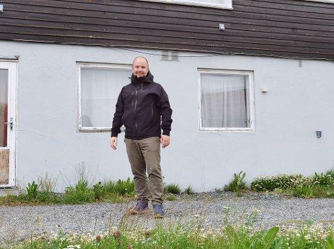 KJØPT: En av de første som sikret seg leilighet i Henriks Hus var Andreas Eng (34). Han er svært fornøyd med boligkjøpet.