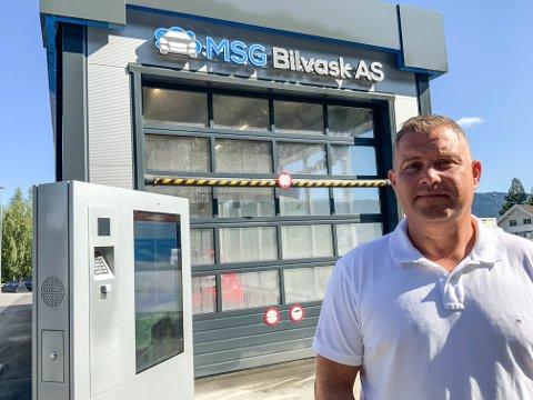 KJEDE: - Målet er å bygge opp en kjede med miljøvennlige vaskehaller i Norge og Skandinavia, sier Svein Gunnar Mæland.