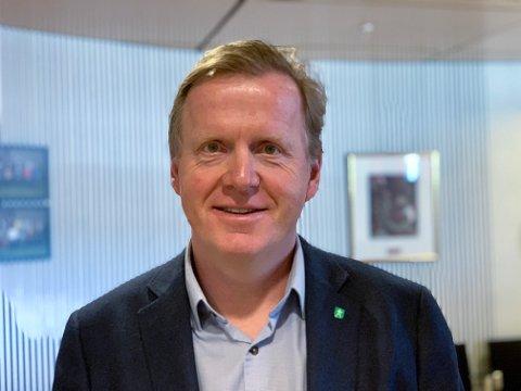 GÅR NEDOVER: Oppvekstsjef Håvard Ulfsnes sier at elevtallet vil gå nedover på mange skoler i Kongsberg i årene fremover.