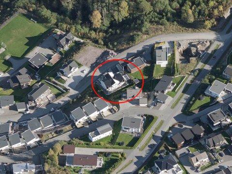 14,4 MILLIONER: Huset i Flåtansvingen på Stoppenkollen var den dyreste boligen som ble solgt i oktober.