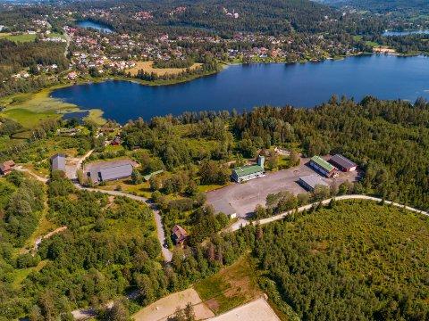 TIL SALGS: Statsbygg selger det tidligere sivilforsvarsanlegget på Lierskogen.
