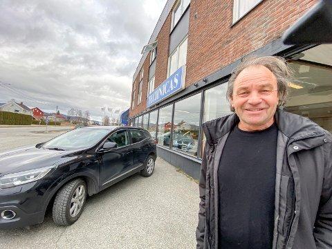 Tilpasser seg markedet: For å imøtekomme markedet har Arve Skinstad valgt å sette ned prisen på Technicas-bygget.