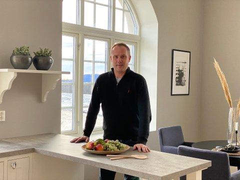 UTBYGGER: Anders Bjerke i Lier Hageby Eiendomsselskap AS, som er et datterselskap av Hønefoss Eiendom AS.
