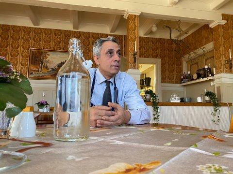 TILDELT TILSKUDD: Fruene Haugestad AS som drives av Ahmed Ali El Badry er blant Lier-bedriftene som har fått kompensasjon for tapte inntekter.