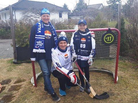 Gjennom prosjektet «Bandy mot korona» har familien Raaen fått inn over 17000 kroner til bandyklubber i Norge og Sverige. – Helt sinnssykt, det var 16.000,- mer enn forventet, sier Kjetil Raaen.