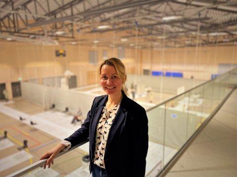 GODT FORNØYD: Prosjektleder Heidi Kristin Ringstad er glad for at det nå skal startes vaksinering i aldersgruppen 75 til 84 år.
