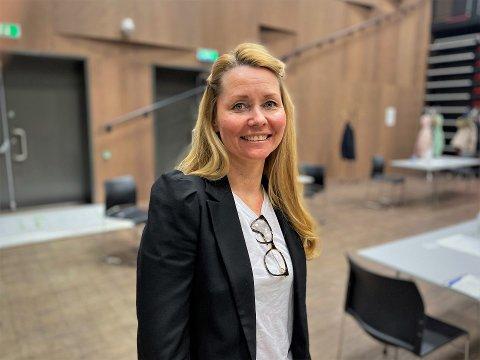 Går unna: Heidi Kristin Ringstad, prosjektleder for vaksinasjonsprogrammet i Lier, sier de kan starte med vaksinering av gruppe 10 neste uke.