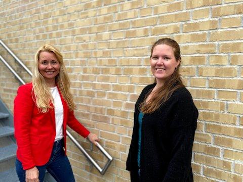 - Ta den timen du får! Det er den klare oppfordringen fra vaksinesjef Heidi Kristin Ringstad (t.v.) og kommuneoverlege Ingrid Bjerring.