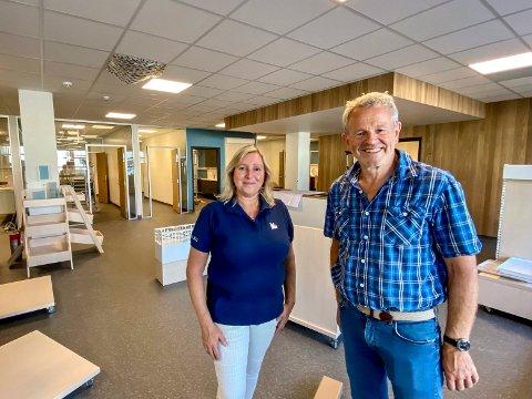 På flyttefot: Etter nærmere 40 år i Drammen, er Anna Wold og Frank Munthe på god vei inn i nye lokaler på Kjellstad med AniCura dyreklinikk.