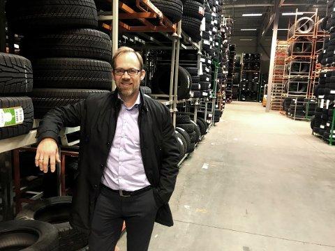 VOKSER: Vianors sjef i Norge, Stein Flak Gunnufsen, har bokført solid vekst i flere år. (Foto: Thor Fremmerlid)