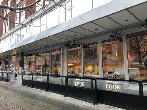 STENGT: Egon-restauranten har holdt stengt siden 9. januar.