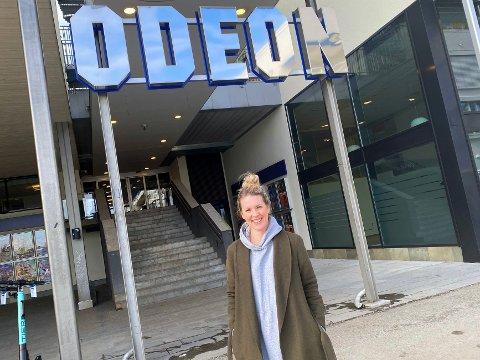 REGIONSLEDER: Johanne Anderssen gir seg som kinosjef for Odeon Lillestrøm, men fortsetter i kinobransjen for Odeon.