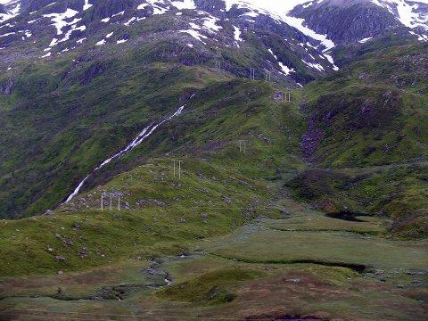 Minikraftverk:  Nattmålsvannet og Nattmålselva (bildet) overfor Laupstad kan nå bygges ut og gi  en årlig grønn kraftproduksjon til 190 husstander. Foto: Hugo Johansen