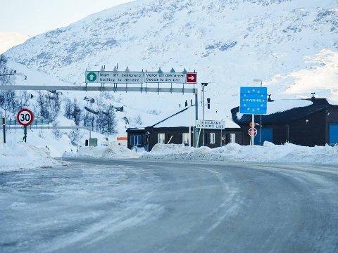 Riksgränsen på Bjørnfjell.