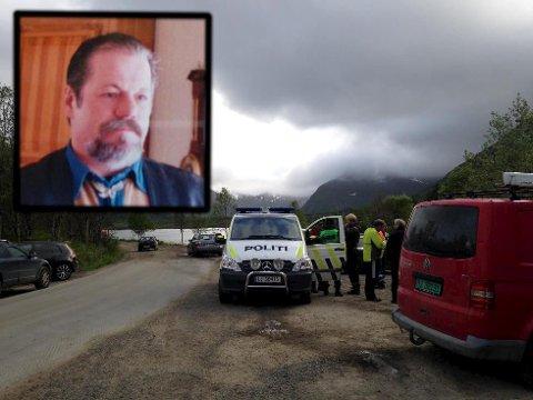 Uten resultat: Tross bred leting er det ikke funnet spor etter savnede Tore Rekkebo i Svolvær-området.