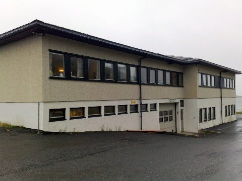 Flakstad kommunes kommunehus/rådhus på Ramberg i Lofoten.