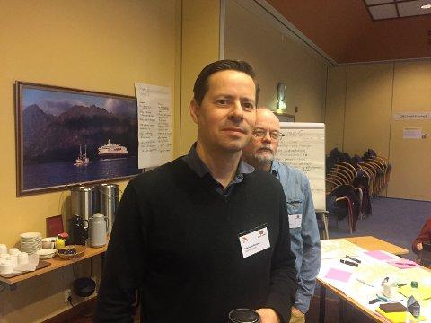 Prosjektleder Nils Petter Rusånes i Statens vegvesen