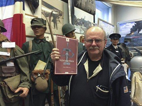 Veteranpris: William Hakvaag er nominert til Veteranprisen i Forsvaret. – Jeg føler meg smigret, men skjønner ikke hvorfor jeg blir nominert, sier gründeren og driveren av Lofoten Krigsminnemuseum. Foto: John-Arne Storhaug.