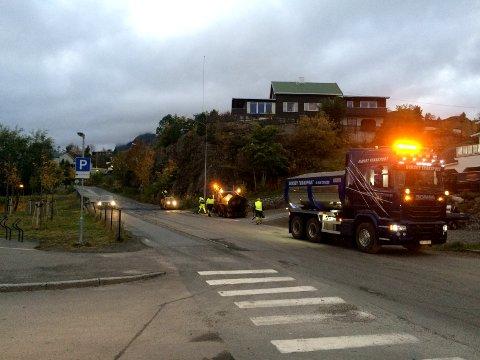 Åpnet: Meyerbakken i Svolvær.